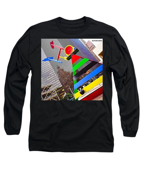 #throwbackthursday, #houston, #texas Long Sleeve T-Shirt