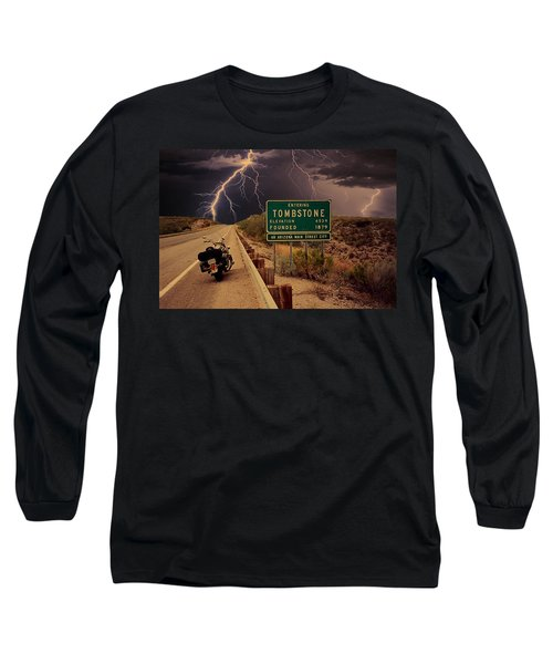 Trouble In Tombstone Long Sleeve T-Shirt