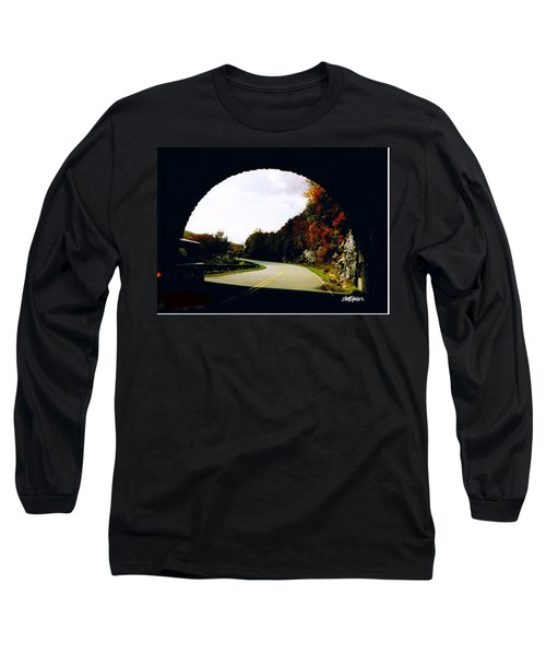 Tunnel Vision Long Sleeve T-Shirt by Seth Weaver