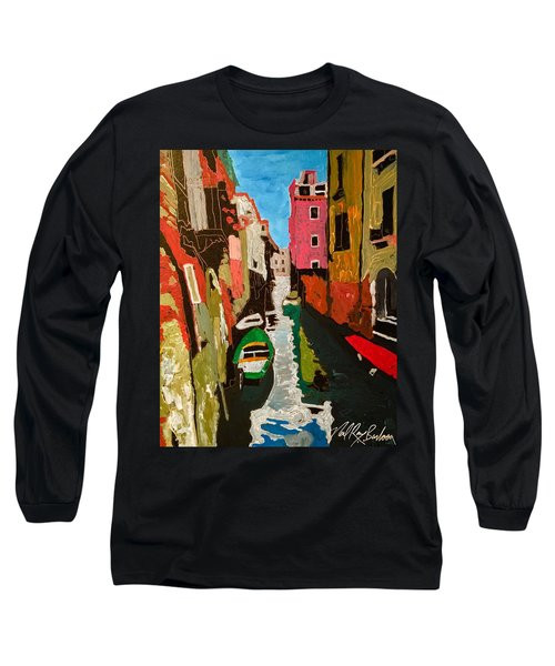 Unfinished Venice Italy  Long Sleeve T-Shirt