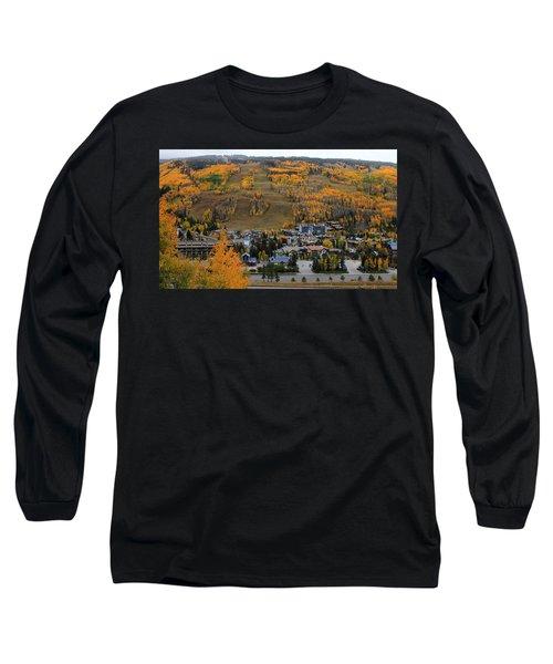 Vail Colorado Long Sleeve T-Shirt by Fiona Kennard