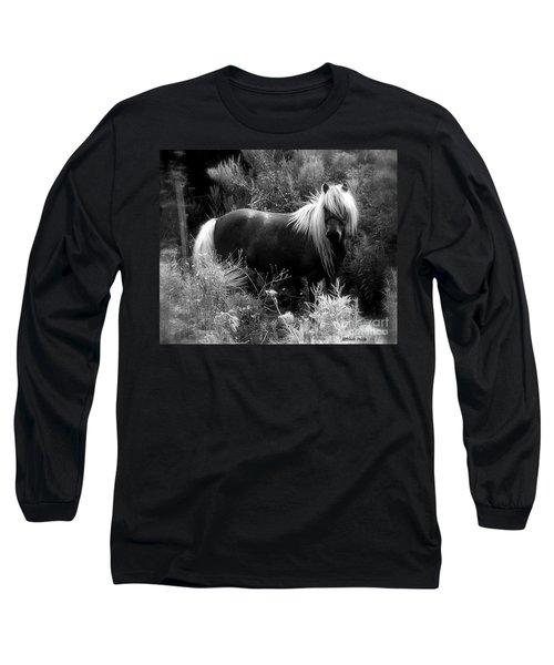 Vanity Long Sleeve T-Shirt by Elfriede Fulda