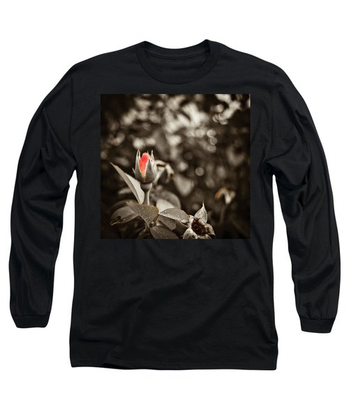 Vintage Rose Long Sleeve T-Shirt