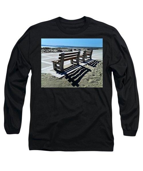 Waiting Long Sleeve T-Shirt by Joe  Palermo