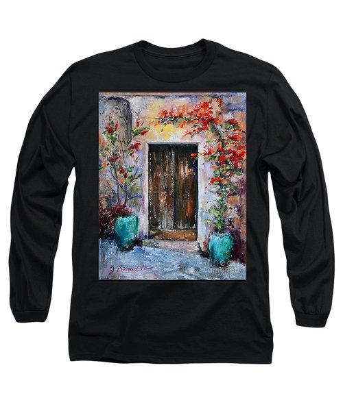 Welcome Long Sleeve T-Shirt by Jennifer Beaudet