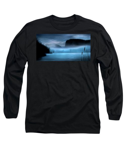Long Sleeve T-Shirt featuring the photograph While You Were Sleeping by John Poon