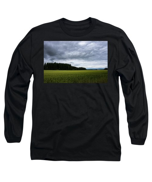 Willamette Wheat Long Sleeve T-Shirt