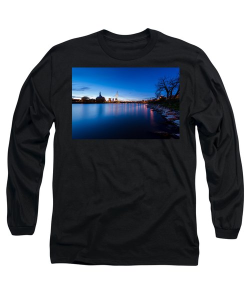 Winnipeg At Night Long Sleeve T-Shirt