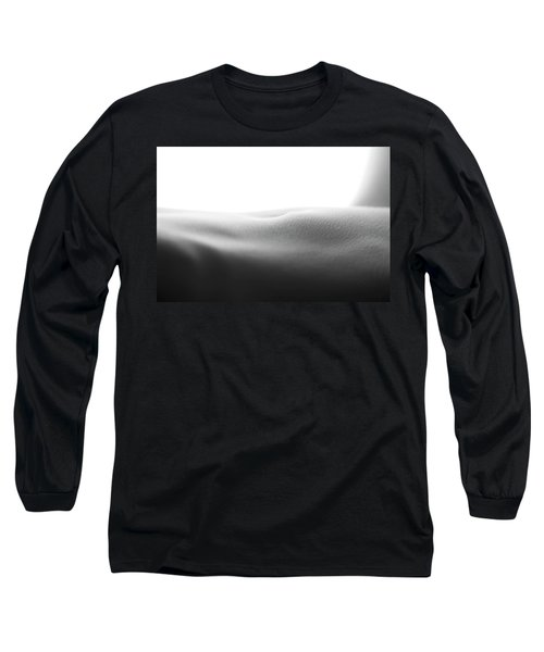 Womans Stomach Long Sleeve T-Shirt