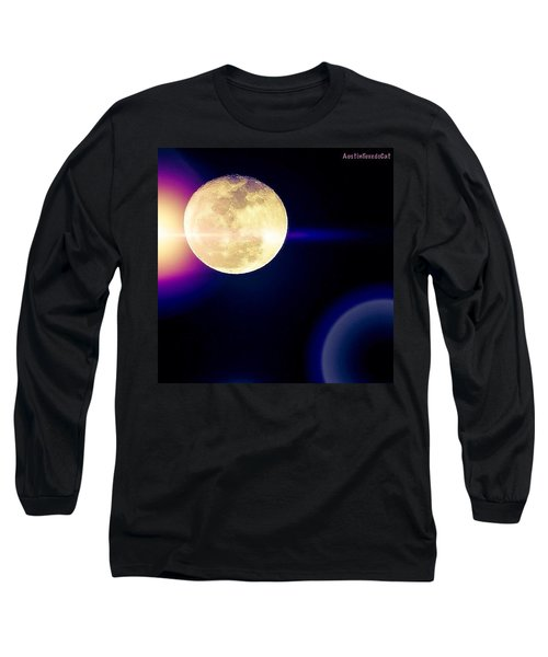 Wouldn't It Be Great If The #moon And Long Sleeve T-Shirt