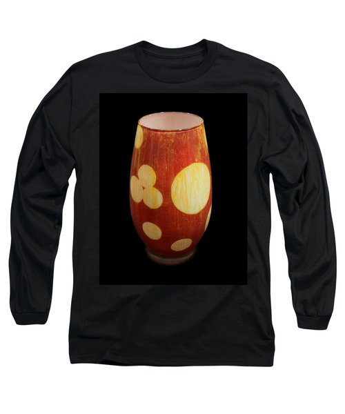 Yellow And White Vase Long Sleeve T-Shirt