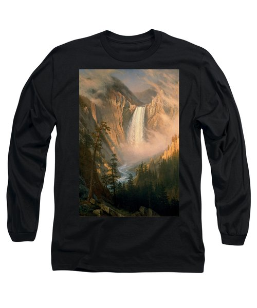 Yellowstone Falls Long Sleeve T-Shirt