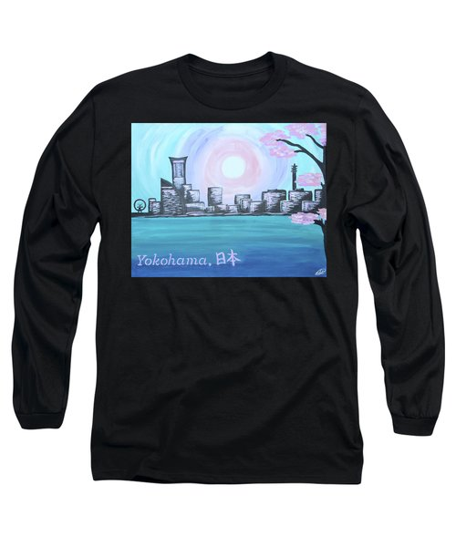 Yokohama Skyline Long Sleeve T-Shirt