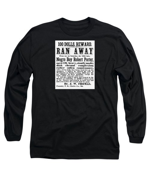 100 Dolls. Reward Ran Away Long Sleeve T-Shirt