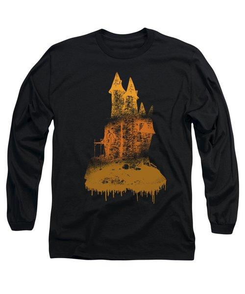 Paint Drips Long Sleeve T-Shirt by Solomon Barroa