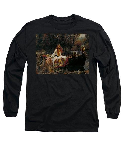 The Lady Of Shalott Long Sleeve T-Shirt