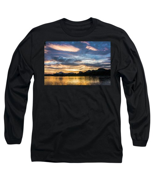Sunrise Scenery In The Morning Long Sleeve T-Shirt