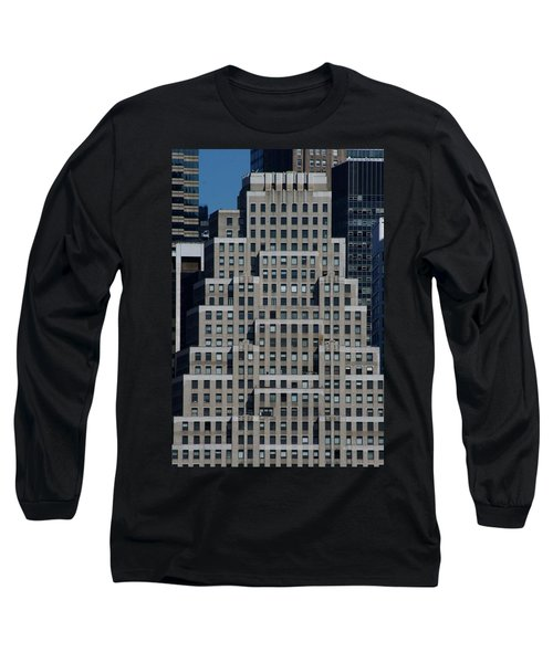 120 Wall Street Nyc Long Sleeve T-Shirt
