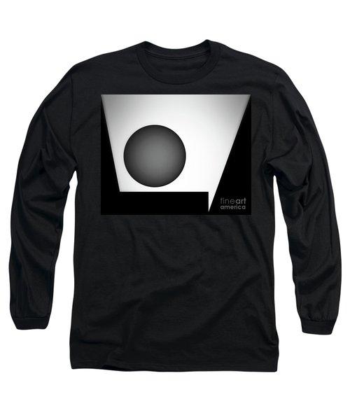 Long Sleeve T-Shirt featuring the digital art 1207 2017 by John Krakora