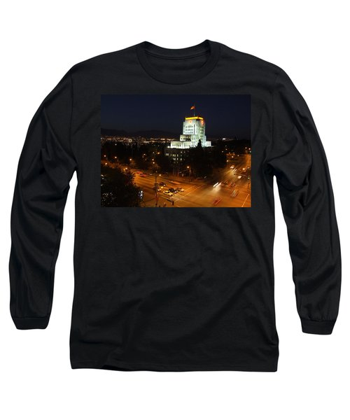 Long Sleeve T-Shirt featuring the photograph 12th And Cambie 1 by Mark Alan Perry