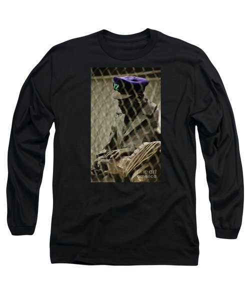 Long Sleeve T-Shirt featuring the photograph 12th Man by Craig Wood