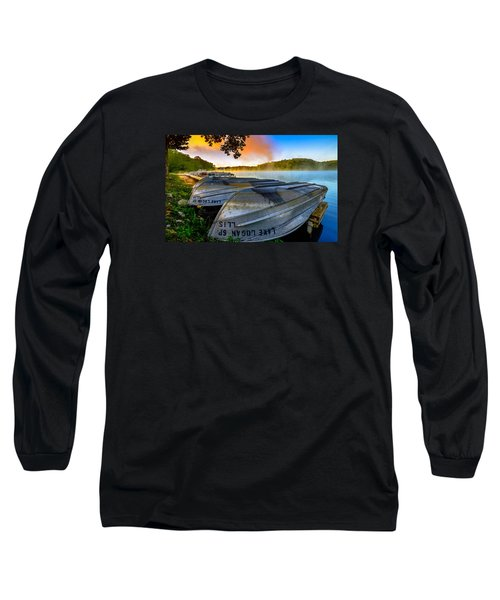 Lake Logan 2 Long Sleeve T-Shirt by Brian Stevens