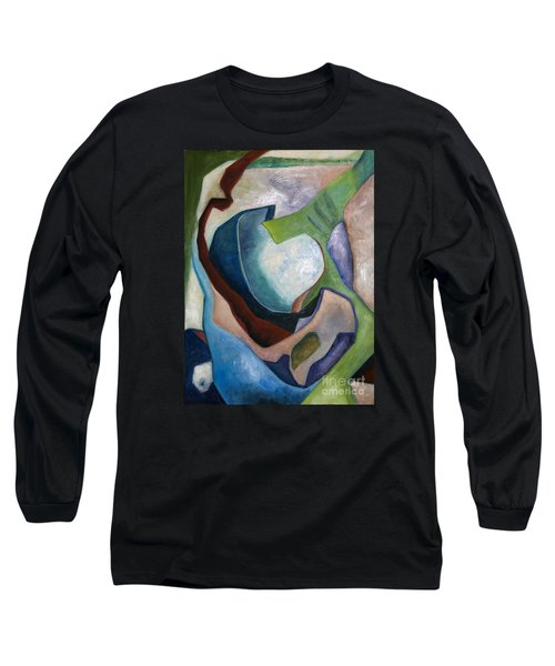 1319 Partial Recall Long Sleeve T-Shirt by AnneKarin Glass