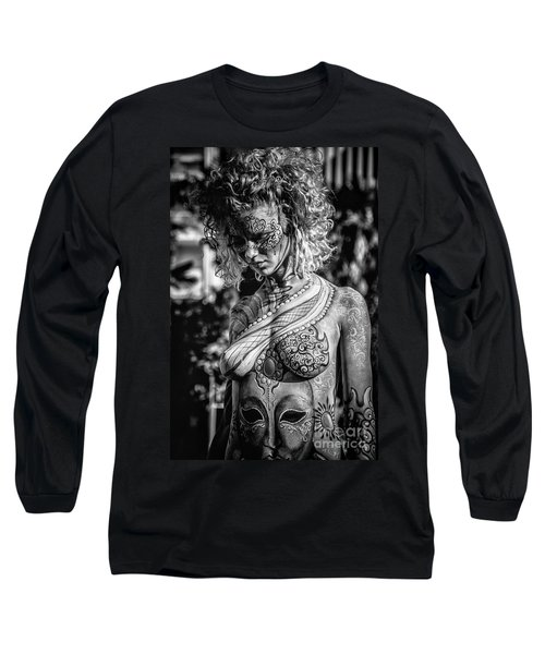 Bodypainting Long Sleeve T-Shirt by Traven Milovich