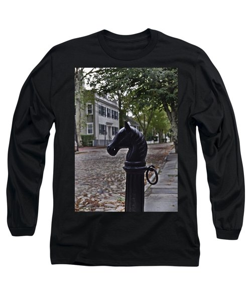 Hitching Post Long Sleeve T-Shirt by JAMART Photography