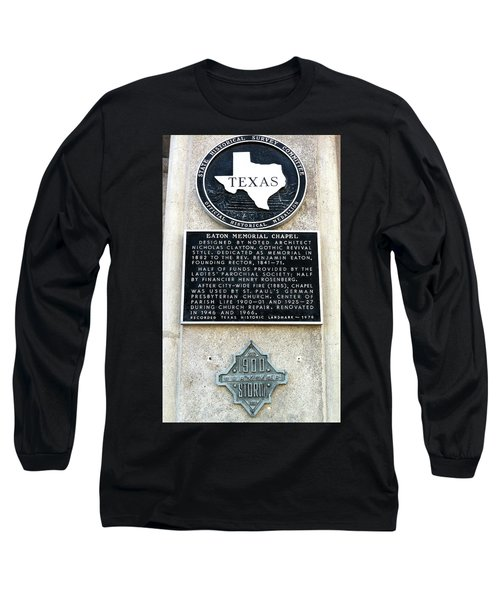 Long Sleeve T-Shirt featuring the photograph 1900 Storm Galveston by Wilhelm Hufnagl