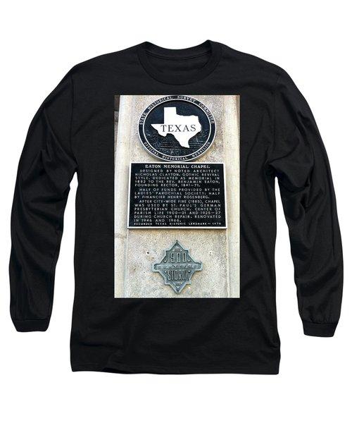 1900 Storm Galveston Long Sleeve T-Shirt