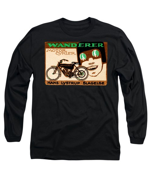 1910 Wanderer Motorcycle Long Sleeve T-Shirt