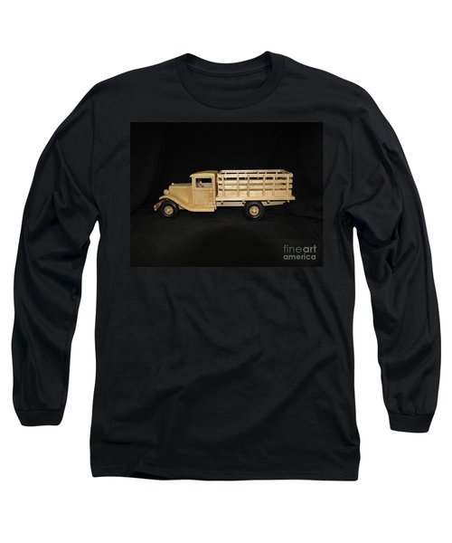 1929 Stake Bed Truck Long Sleeve T-Shirt by Marilyn Carlyle Greiner