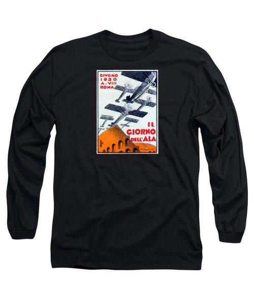 1930 Italian Air Show Long Sleeve T-Shirt