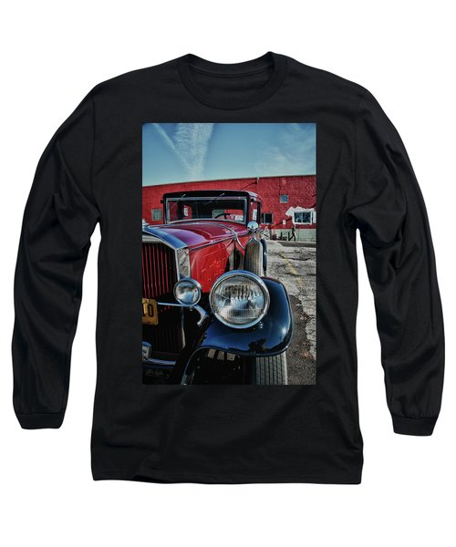 Long Sleeve T-Shirt featuring the photograph 1931 Pierce Arow 3473 by Guy Whiteley
