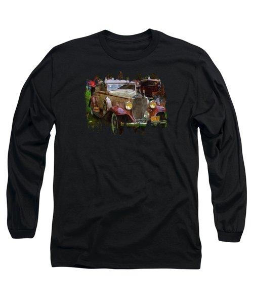1932 Packard 900 Long Sleeve T-Shirt