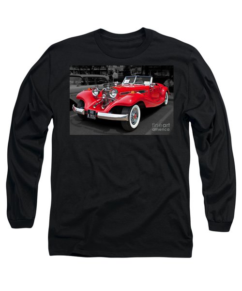 1934 Mercedes 500k Cabriolet Long Sleeve T-Shirt
