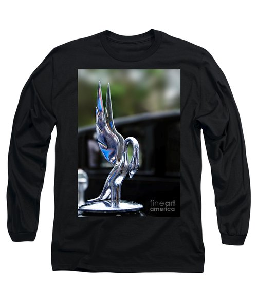 1934 Packard Eight - Hood Ornament Long Sleeve T-Shirt