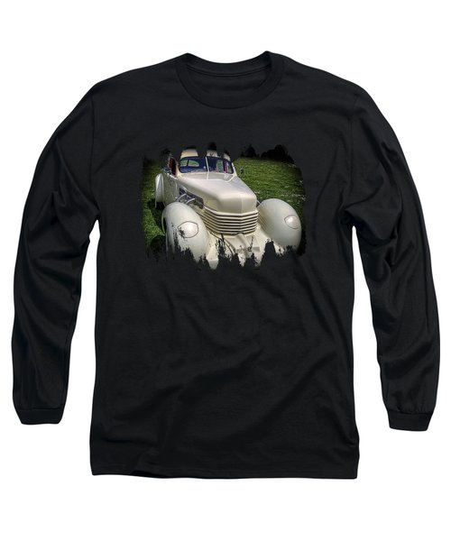 Long Sleeve T-Shirt featuring the photograph 1936 Cord Automobile by Thom Zehrfeld