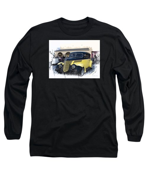 1937 Ford Deluxe Sedan_a2 Long Sleeve T-Shirt