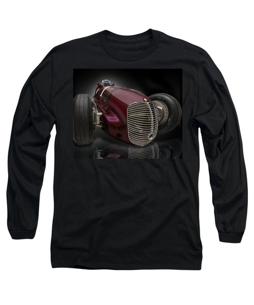1939 Maserati 8ctf Indy Racer Long Sleeve T-Shirt by Gary Warnimont