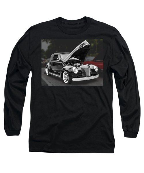 1940 Ford Deluxe Automobile Long Sleeve T-Shirt