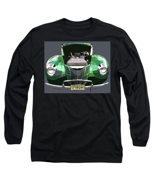 1940 Ford Long Sleeve T-Shirt by JoAnn Lense