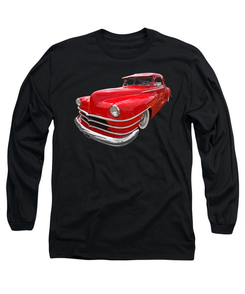 1940s Custom Chrysler New Yorker In Red Long Sleeve T-Shirt