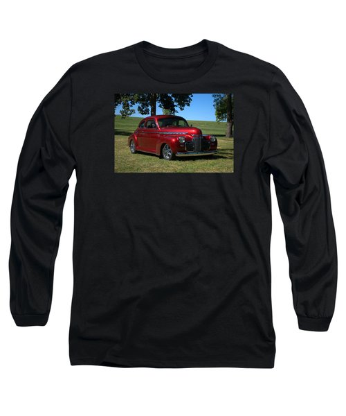 Long Sleeve T-Shirt featuring the photograph 1941 Chevrolet Custom Street Rod by Tim McCullough