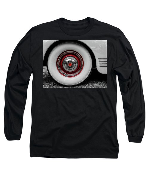 1941 Packard Convertible Wheels Long Sleeve T-Shirt