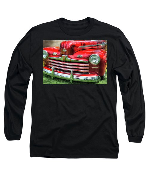 1946 Ford 2 Door Super De Luxe Coupe Long Sleeve T-Shirt