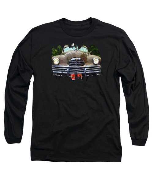 1948 Packard Super 8 Touring Sedan Long Sleeve T-Shirt