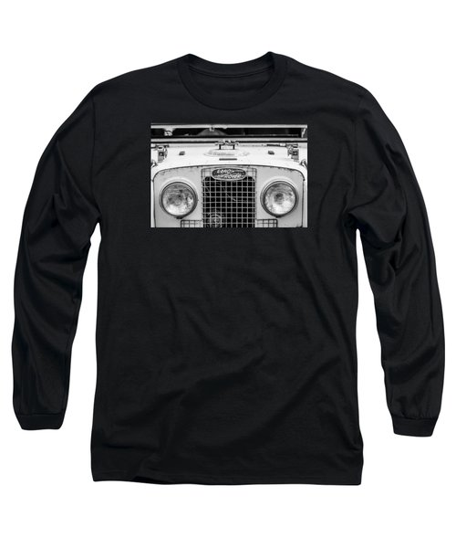 1952 Land Rover 80 Grille -0988bw Long Sleeve T-Shirt