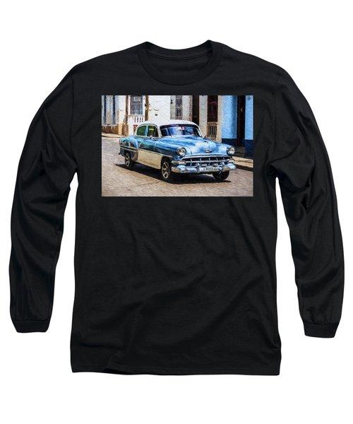 1954 Chevy Cuba Long Sleeve T-Shirt